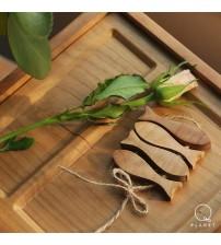祭祀小物件(小魚)-北美櫻桃木