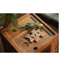 祭祀小物件(骨頭)-北美櫻桃木