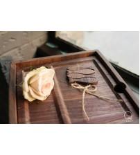 祭祀小物件(小魚)-北美黑胡桃