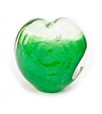 回憶纪念心型玻璃球 Forever Green
