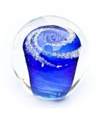 回憶纪念玻璃球 Sky Blue